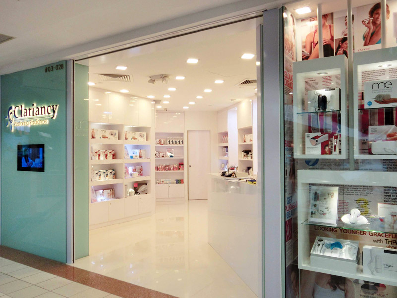Shop entrance view