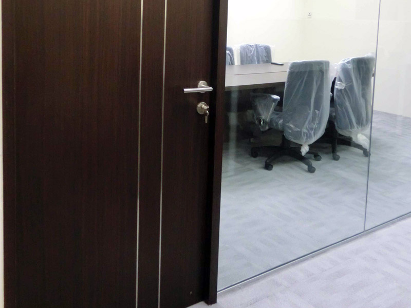 15_Wendy's-office-renovation-with-custom-made-stainless-steel-inlay-timber-door